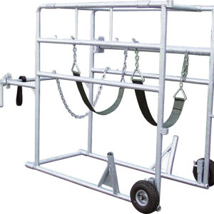 Klauwbehandelbox Compact stal